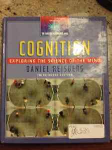 Cognition, Exploring the Science of the Mind, 3rd media edition. Kitchener / Waterloo Kitchener Area image 1