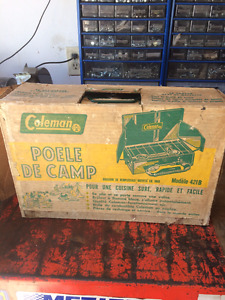 Coleman camping stove very good condition