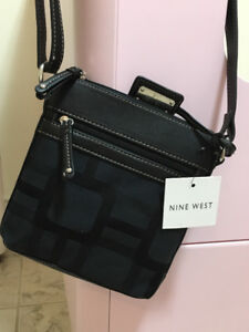 Nine West Crossbody black bag, new with tags