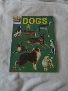 vintage 1962 HOW AND WHY WONDER BOOK OF DOGS