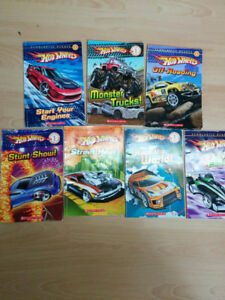 Hotwheels scholastic readers-30 for all