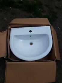 Bathstore white sink basin pedestal