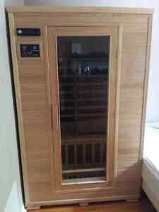 Far Infrared Sauna 2 Person Reforested Canadian Hemlock