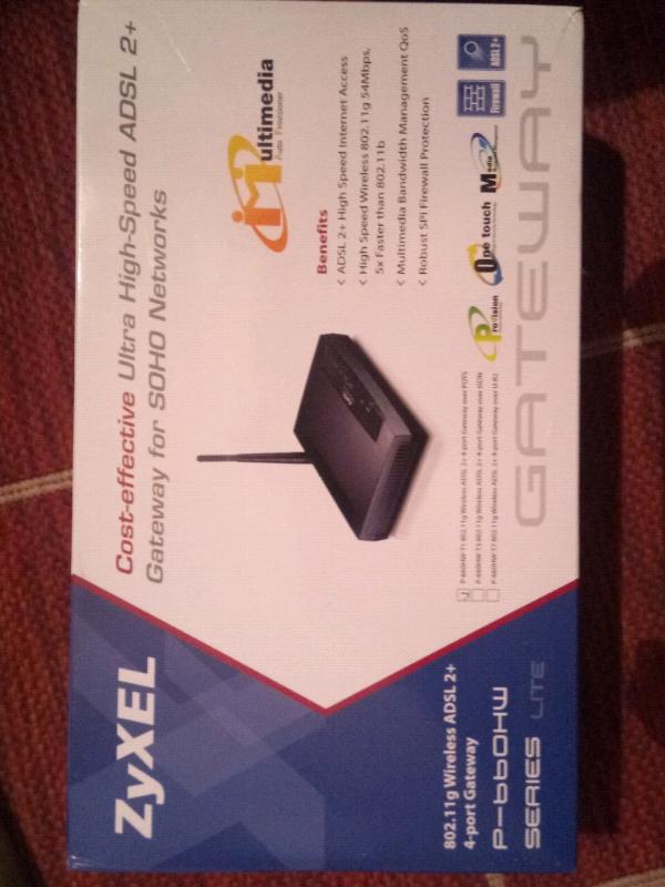 ADSL 2 +4 Wireless port Gateway | in Redbridge, London | Gumtree