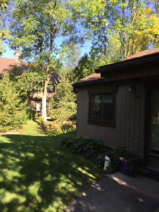 Beautiful convo with large deck and privacy