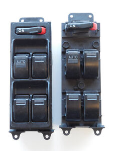 HONDA ODYSSEY 2000 DRIVER SIDE MASTER WINDOW SWITCH S1AM18598