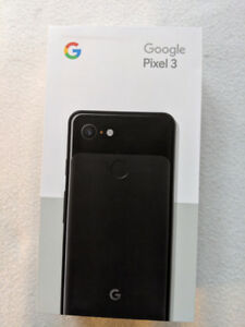 Sealed Pixel 3 - 64GB - Voted best camera on a phone!
