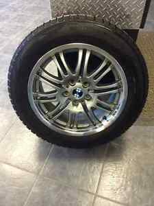 Nokian Snow Tires and BMW Rims