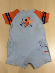 "Baby Boy Playsuit "" Fly Guy""  18M"