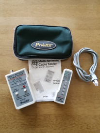 Pros's Kit Multi Network Ethernet Cable Tester.