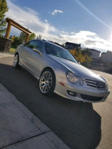 2007 Mercedes CLK-350 Designo3 Silver Edition