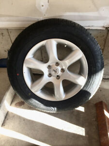 235/65/R18 - Brand New Goodyear Eagle Tire and Rim