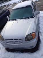 Hyundai Accent only 126,000