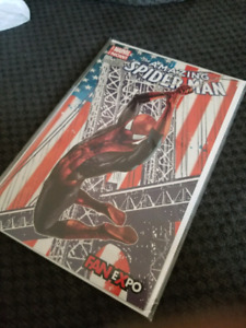 Amazing spiderman #1 fan expo variant