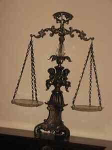 balance antique,antiquité,vintage,bronze,laiton,chérubin