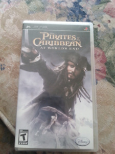 PSP Pirates of the Caribbean At Worlds End