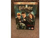 Harry Potter & The Order of the Phoenix Special Edition DVD's