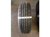 245 70 16 4x4 tyre part worn