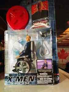 3 New Condition & Unopened: X-Men The Movie Action Figures.