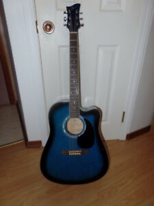 Jay electric/acoustic guitar