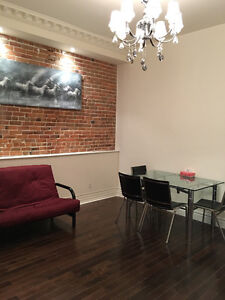 Luxury apartment with full furnitures in Montreal downtown