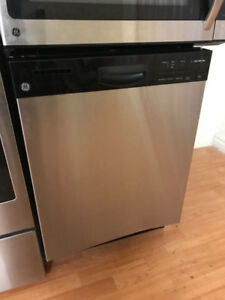 """2016 GE 24"""" COMPLETE STAINLESS STEEL UNDER COUNTER DISHWASHER"""