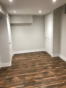 TWO BEDROOM BASEMENT APARTMENT , AVAILABLE IMMEDIATELY