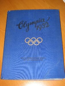 Antique Books Olympia 1932 and 1936 German Sticker Albums