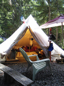 Bell Tent - Canvas -  BIG  TENT Campbell River Comox Valley Area image 4