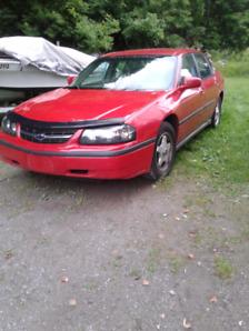 2003 impala 165,000km - 2650$ obo