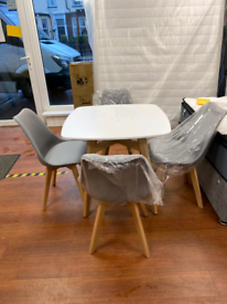 5. Bistro table and chairs