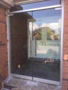 10mm Tempered Glass Entrance Doors / Mirrors / Stairs