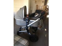JOOLZ Day Earth Edition, Elephant Grey Pram - Excellent Condition