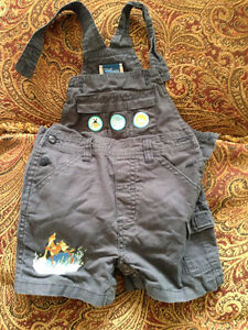 Winnie the Pooh Tigger Coveralls Size 6 months