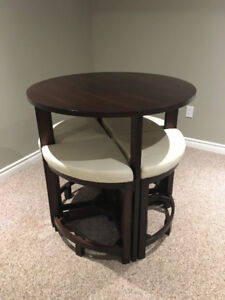 Pub Style Table with Chairs