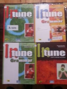 In Tune, English, CEC, 4 cahiers différents,