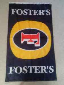 Various Foster's Beer Tapestry Fabric Wall Flags
