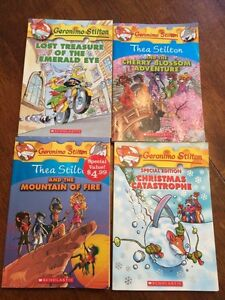 4 Geronimo/Thea Stilton books
