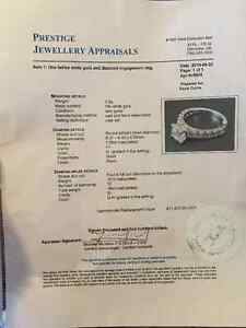 Beautiful 1 ct White Gold Diamond Ring Williams Lake Cariboo Area image 7