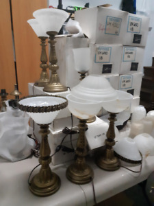 Lampes de tables, chandeliers & appliqués murales 5$ - 10$-15$