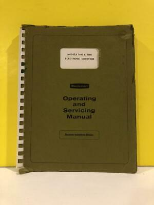 Beckman 015-436336 7050 7060 Electronic Counters Operating And Service Manual