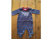 Ted baker baby grow, 0,3 months