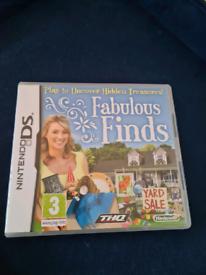 Fabulous finds DS
