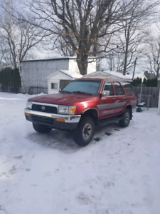 4Runner SR5 22RE 5Manual Speed 4X4