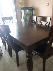 Kingstown 7 Piece Dining Room Table With Chairs