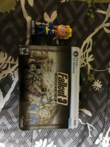Fallout 3 Collectors Tin & bobble head