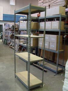 Boltless Shelving, for storage room, garage, pantry, locker room