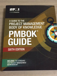 A Guide to the Project Management Body of Knowledge -PMBOK Guide