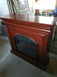 Electric fire place $100