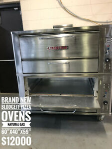 BRAND NEW AND USED PIZZA OVENS